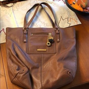 Leather Juicy couture tote